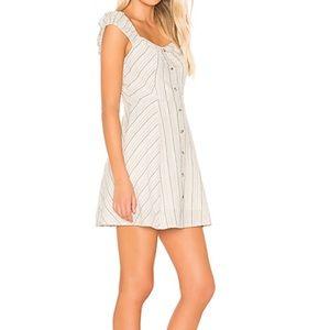 J.O.A buttoned down mini dress